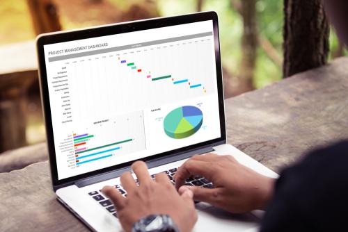 会計人のためのExcel活用術(25)会計データの編集で押さえておきたいExcelのグラフ機能(BS分析1)